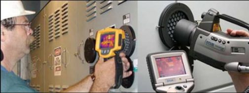 Electrical Infrared Testing - IR windows in use