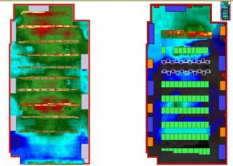 Thermal Map Floor and Ceiling